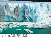 Купить «Glacier Perito Moreno, southeast of Argentina», фото № 28791325, снято 2 февраля 2017 г. (c) Яков Филимонов / Фотобанк Лори