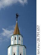 Купить «Башня Раифского Богородицкого монастыря. Раифа. Татарстан», фото № 28791657, снято 23 сентября 2017 г. (c) Виктор Юрасов / Фотобанк Лори