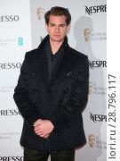 Купить «BAFTA Nespresso Nominees' Party held at Kensington Palace - Arrivals Featuring: Andrew Garfield Where: London, United Kingdom When: 11 Feb 2017 Credit: Lia Toby/WENN.com», фото № 28796117, снято 11 февраля 2017 г. (c) age Fotostock / Фотобанк Лори