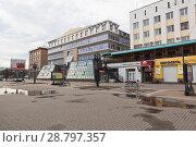 Купить «Офисные здания на улице Благовещенской в городе Вологде», фото № 28797357, снято 5 мая 2018 г. (c) Николай Мухорин / Фотобанк Лори