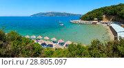 Купить «Pema e Thate beach, Albania.», фото № 28805097, снято 13 июля 2016 г. (c) Юрий Брыкайло / Фотобанк Лори