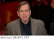 Купить «Cast members and director attend a premiere for 'The Party' at the 67th International Berlin Film Festival (Berlinale) Featuring: Timothy Spall Where:...», фото № 28811737, снято 13 февраля 2017 г. (c) age Fotostock / Фотобанк Лори