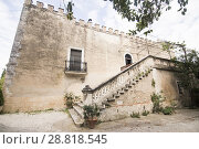 Купить «El Pinet is an ancient villa in Alfafara Valencian community Spain.», фото № 28818545, снято 20 мая 2018 г. (c) age Fotostock / Фотобанк Лори