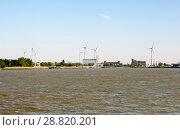 Купить «Берег реки Шельда. Антверпен. Бельгия», фото № 28820201, снято 5 мая 2018 г. (c) Сергей Афанасьев / Фотобанк Лори