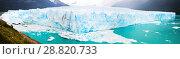 Купить «Panorama of glacier Perito Moreno, southeast of Argentina», фото № 28820733, снято 22 сентября 2018 г. (c) Яков Филимонов / Фотобанк Лори