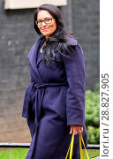 Купить «Ministers attend the weekly Cabinet meeting at 10 Downing Street Featuring: Pritti Patel Where: London, United Kingdom When: 07 Feb 2017 Credit: WENN.com», фото № 28827905, снято 7 февраля 2017 г. (c) age Fotostock / Фотобанк Лори