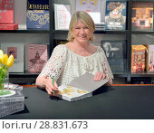 Купить «Martha Stewart holds a book signing with Sam Sifton, food editor of The New York Times, about her latest book 'VEGETABLES' at Books & Books Featuring:...», фото № 28831673, снято 24 февраля 2017 г. (c) age Fotostock / Фотобанк Лори