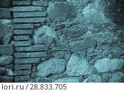 Купить «Illustration of cementic background with stones», фото № 28833705, снято 17 августа 2018 г. (c) Яков Филимонов / Фотобанк Лори