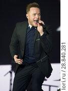 Купить «Pop star Olly Murs plays live to an audience in the SSE Hydro in Glasgow Featuring: Olly Murs Where: Glasgow, United Kingdom When: 03 Mar 2017 Credit: WENN.com», фото № 28840281, снято 3 марта 2017 г. (c) age Fotostock / Фотобанк Лори