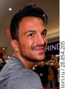 Купить «Peter Andre launches his new fragrance 'Forever Young' and signs copies of his 2017 calendar at the Orchards Shopping Centre in Taunton Featuring: Peter...», фото № 28854205, снято 11 марта 2017 г. (c) age Fotostock / Фотобанк Лори