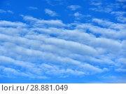 Купить «Beautiful heavenly landscape», фото № 28881049, снято 9 июля 2018 г. (c) Валерия Попова / Фотобанк Лори