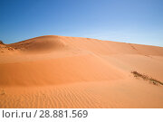 Красные дюны Муй Не. Вьетнам (2015 год). Стоковое фото, фотограф Виктор Карасев / Фотобанк Лори