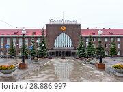 Купить «Южный вокзал. Калининград», эксклюзивное фото № 28886997, снято 12 июля 2018 г. (c) Александр Щепин / Фотобанк Лори