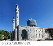 Купить «Соборная мечеть Санкт-Петербурга, Россия», фото № 28887689, снято 24 мая 2018 г. (c) Наталья Волкова / Фотобанк Лори