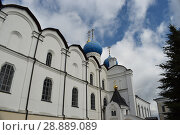 Благовещенский собор Казанского кремля (2017 год). Стоковое фото, фотограф Виктор Юрасов / Фотобанк Лори