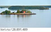 Купить «Остров в Балтийском море. Раннее утро», фото № 28891489, снято 9 июля 2018 г. (c) Валерия Попова / Фотобанк Лори