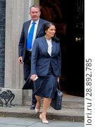 Купить «Ministers attend a weekly Cabinet Meeting at No 10 Downing Street. Featuring: Priti Patel, Liam Fox Where: London, United Kingdom When: 29 Mar 2017 Credit: WENN.com», фото № 28892785, снято 29 марта 2017 г. (c) age Fotostock / Фотобанк Лори