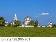 Купить «Luzhetsky Monastery, Mozhaysk, Russia», фото № 28906961, снято 13 июля 2018 г. (c) Boris Breytman / Фотобанк Лори