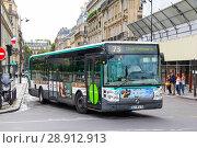 Купить «Irisbus Citelis 12M Line», фото № 28912913, снято 8 августа 2014 г. (c) Art Konovalov / Фотобанк Лори