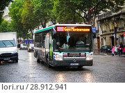 Купить «Irisbus Citelis 12M Line», фото № 28912941, снято 8 августа 2014 г. (c) Art Konovalov / Фотобанк Лори