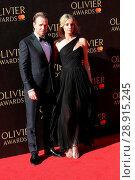 Купить «Rafe Spall and Elize Du Toit attending the 2017 Olivier Awards, at the Royal Albert Hall in London. Featuring: Rafe Spall, Elize Du Toit Where: London...», фото № 28915245, снято 9 апреля 2017 г. (c) age Fotostock / Фотобанк Лори