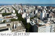 Купить «View of Montevideo, capital of Uruguay», фото № 28917937, снято 19 февраля 2017 г. (c) Яков Филимонов / Фотобанк Лори