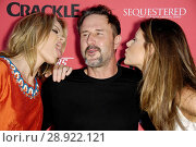 Missy Pyle, David Arquette, Meredith Pyle at arrivals for Crackle Presents: Summer Premieres for SEQUESTERED and CLEANERS, 1OAK LA, Los Angeles, CA August... Редакционное фото, фотограф Michael Germana/Everett Collection / age Fotostock / Фотобанк Лори