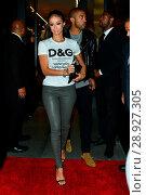 Draya Michele attending a Dolce & Gabbana party on Beverly Hills ... (2017 год). Редакционное фото, фотограф WENN.com / age Fotostock / Фотобанк Лори