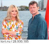 Купить «Laura Whitmore with Bill Ward ahead of the opening night of Peter James bestselling thriller 'Not Dead Enough' at the Bord Gáis Energy Theatre, Dublin...», фото № 28930185, снято 18 апреля 2017 г. (c) age Fotostock / Фотобанк Лори