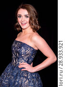 Maisie Williams at arrivals for THE DEVIL AND THE DEEP BLUE SEA Premiere at 2016 Tribeca Film Festival, John Zuccotti Theater at BMCC TPAC, New York, NY... Редакционное фото, фотограф Steven Ferdman/Everett Collection / age Fotostock / Фотобанк Лори
