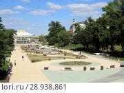 Купить «Рязань. Лыбедский бульвар.», фото № 28938861, снято 16 июня 2018 г. (c) УНА / Фотобанк Лори