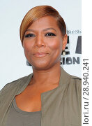 Queen Latifah at arrivals for ICE AGE: COLLISION COURSE Premiere, Walter Reade Theatre, New York, NY July 7, 2016. Photo By: Kristin Callahan/Everett Collection. Редакционное фото, фотограф Kristin Callahan/Everett Collection / age Fotostock / Фотобанк Лори