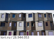 Купить «Berlin, Germany, facade of the student village Adlershof», фото № 28944053, снято 27 сентября 2016 г. (c) Caro Photoagency / Фотобанк Лори
