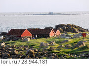 Купить «Brusand, Norway, boathouses on the coast», фото № 28944181, снято 23 июня 2005 г. (c) Caro Photoagency / Фотобанк Лори