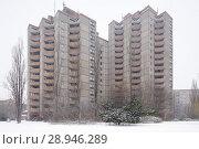 Купить «Berlin, Germany, monument protected housing estate Ernst-Thaelmann-Park in Berlin-Prenzlauer Berg», фото № 28946289, снято 6 января 2016 г. (c) Caro Photoagency / Фотобанк Лори