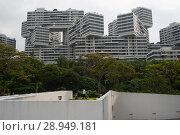 Купить «Singapore, Republic of Singapore, The Interlace», фото № 28949181, снято 14 декабря 2017 г. (c) Caro Photoagency / Фотобанк Лори