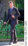Купить «Minister attend the weekly Cabinet meeting at 10 Downing Street Featuring: Gavin Williamson MP Where: London, United Kingdom When: 25 Apr 2017 Credit: WENN.com», фото № 28971289, снято 25 апреля 2017 г. (c) age Fotostock / Фотобанк Лори