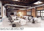 Купить «modern loft interior», фото № 28972797, снято 20 октября 2018 г. (c) Виктор Застольский / Фотобанк Лори