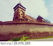 Купить «Fortified church in Valea Viilor, Romania», фото № 28976289, снято 17 сентября 2017 г. (c) Яков Филимонов / Фотобанк Лори