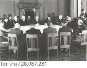 Ялтинская конференция союзных держав. Февраль 1945. Редакционное фото, фотограф Retro / Фотобанк Лори