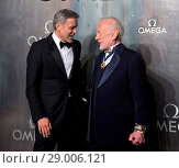 Купить «Omega 'Lost in Space' 60th Anniversary of Speedmaster at The Tate Modern - Arrivals Featuring: George Clooney, Buzz Aldrin Where: London, United Kingdom When: 26 Apr 2017 Credit: WENN.com», фото № 29006121, снято 26 апреля 2017 г. (c) age Fotostock / Фотобанк Лори