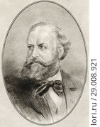 Купить «Charles-François Gounod, 1818-1893. French composer. Illustration by Gordon Ross, American artist and illustrator (1873-1946), from Living Biographies of Great Composers.», фото № 29008921, снято 22 октября 2019 г. (c) age Fotostock / Фотобанк Лори