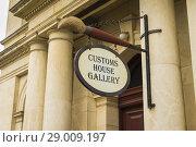 Купить «Customs House Gallery, Oamaru, Otago, South Island, New Zealand.», фото № 29009197, снято 19 декабря 2018 г. (c) age Fotostock / Фотобанк Лори