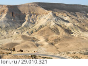 Wonderful views of Ein Avdat and Zin Valley. Negev, desert and semidesert region of southern Israel (2018 год). Стоковое фото, фотограф Валерия Попова / Фотобанк Лори