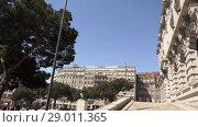 Купить «Pacos of Municipality of Porto in Portugal», видеоролик № 29011365, снято 16 ноября 2017 г. (c) BestPhotoStudio / Фотобанк Лори