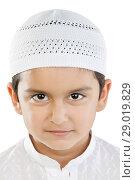 Portrait of a Muslim boy. Стоковое фото, фотограф IndiaPicture / easy Fotostock / Фотобанк Лори