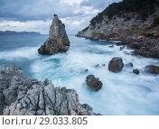 Es Niu de s'Aguila, Alcudia coast, Mallorca, Spain. Стоковое фото, фотограф Sebastià Torrens / age Fotostock / Фотобанк Лори