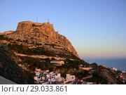 Купить «Castle of Santa Barbara of Alicante, Valencia, Spain», фото № 29033861, снято 23 декабря 2016 г. (c) age Fotostock / Фотобанк Лори