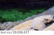 Купить «Norwegian fjord in sunny day, Averoy, Norway», видеоролик № 29036617, снято 1 сентября 2018 г. (c) Некрасов Андрей / Фотобанк Лори