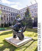 Купить «Joan Miró, Pájaro lunar. Museo Reina Sofía. Madrid, Spain.», фото № 29055601, снято 5 февраля 2017 г. (c) age Fotostock / Фотобанк Лори